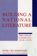 Building a National Literature Cover