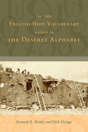 An 1860 English-Hopi Vocabulary Written in the Deseret Alphabet