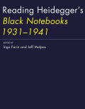 Reading Heidegger's <i>Black Notebooks 1931--1941</i>