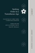 Seeking Order in a Tumultuous Age: The Writings of Chŏng Tojŏn, a Korean Neo-Confucian