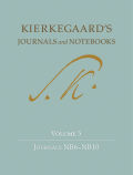 Kierkegaard's Journals and Notebooks, Volume 5: Journals NB6-NB10