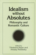 Idealism without Absolutes cover