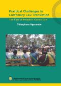 Practical Challenges in Customary Law Translation Cover