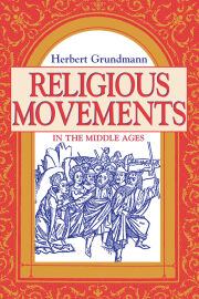 Religious Movements in the Middle Ages