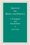 Aquinas on Being and Essence Cover