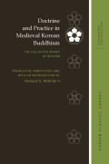 Doctrine and Practice in Medieval Korean Buddhism Cover
