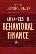 Advances in Behavioral Finance, Volume II Cover