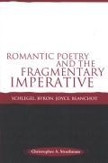 Romantic Poetry and the Fragmentary Imperative cover