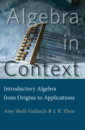 Algebra in Context Cover