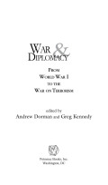 War and Diplomacy