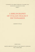 A Bibliography of Italian Dialect Dictionaries Cover