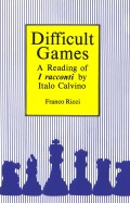 Difficult Games Cover