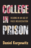 College in Prison Cover