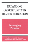 Expanding Opportunity in Higher Education cover
