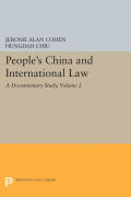 People's China and International Law, Volume 2: A Documentary Study