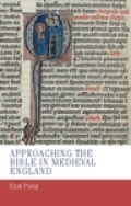 Approaching the Bible in medieval England Cover