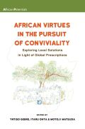 African Virtues in the Pursuit of Conviviality Cover