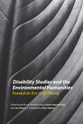 Disability Studies and the Environmental Humanities Cover