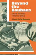 Beyond the Bauhaus Cover