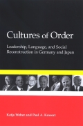 Cultures of Order cover