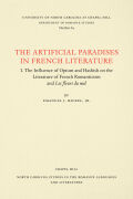 The Artificial Paradises in French Literature Cover