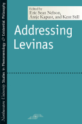 Addressing Levinas cover