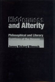 Hiddenness and Alterity