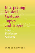 Interpreting Musical Gestures, Topics, and Tropes Cover
