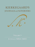 Kierkegaard's Journals and Notebooks, Volume 9: Journals NB26–NB30