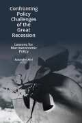 Confronting Policy Challenges of the Great Recession