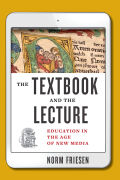 The Textbook and the Lecture Cover