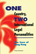 One Country, Two International Legal Personalities cover