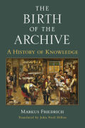 The Birth of the Archive cover
