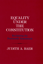 Equality under the Constitution