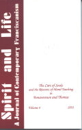 Care of Souls and the Rhetoric of Moral Theology in Bonaventure and Thomas, The Cover