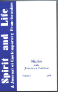 Mission in the Franciscan Tradition Cover