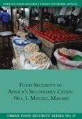 Food Security in Africa's Secondary cities
