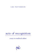 Acts of Recognition Cover