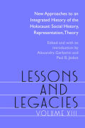 Lessons and Legacies XIII