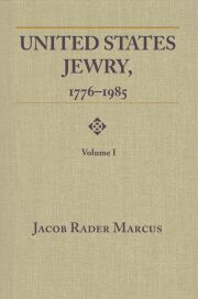 United States Jewry, 1776-1985