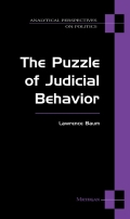 The Puzzle of Judicial Behavior Cover
