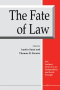 The Fate of Law