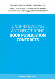 Understanding and Negotiating Book Publication Contracts