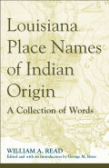Louisiana Place Names of Indian Origin Cover