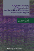 A Quarter-Century of Normalization and Social Role Valorization Cover