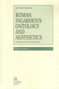 Roman Ingarden's Ontology and Aesthetics Cover