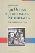The Origins of Simultaneous Interpretation Cover