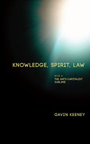 Knowledge, Spirit, Law, Book 2: The Anti-Capitalist Sublime
