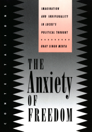 The Anxiety of Freedom