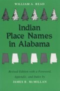 Indian Place Names in Alabama Cover